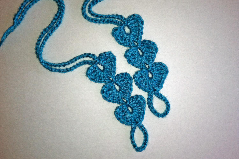 Crochet Rochelle: Hearts Barefoot Sandals