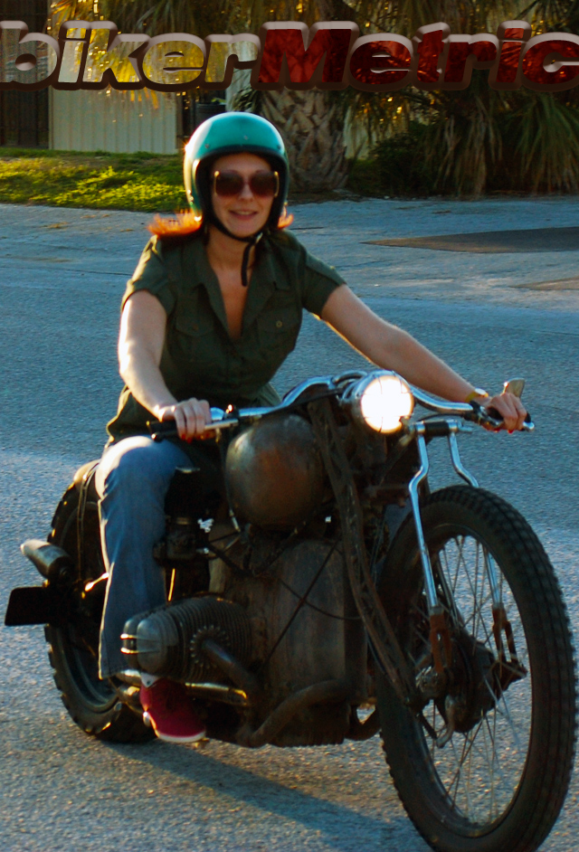 wendy on bmw bobber | fna custom cycles
