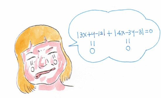 Picasso Math Math Exorcist Crying In Absolute Value Symbol Equation