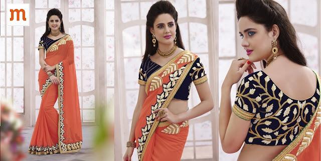 Choosing Wedding Sarees at Moksha Fashions
