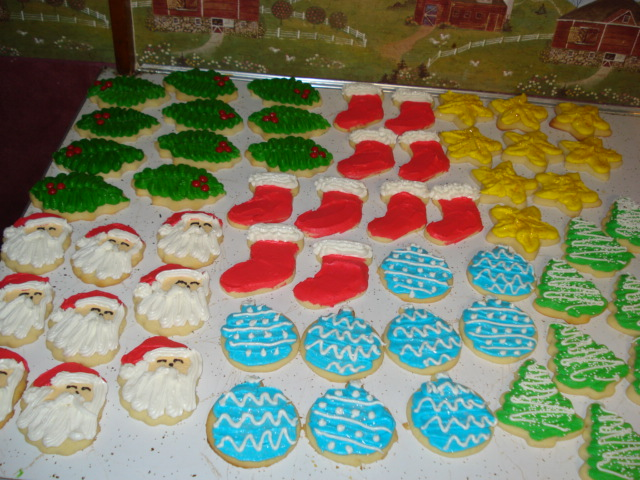 The Creative Home Christmas Cut Out Cookies
