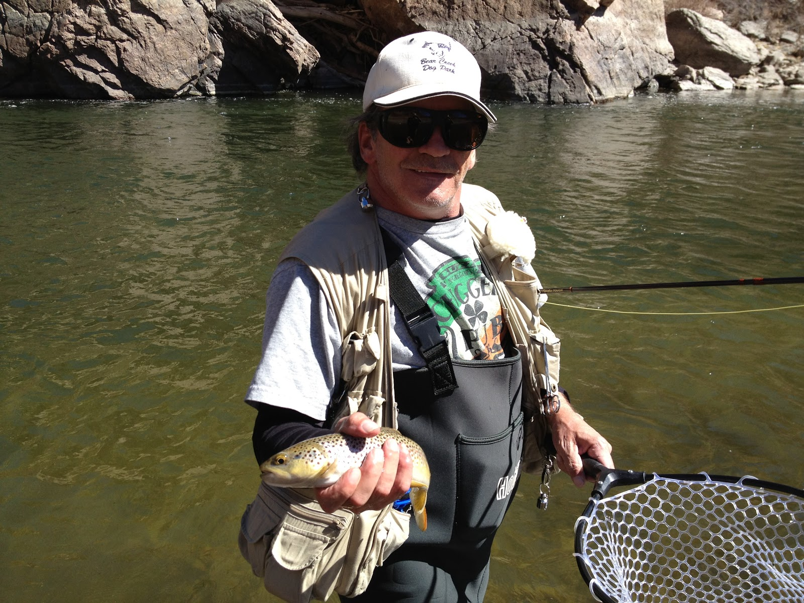 Jamie 39 s fly fishing journal arkansas river canyon city for Fly fishing journal