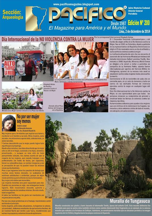 Revista Pacífico Nº 200 Arqueología