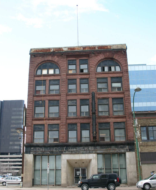 272 Main - The Scott Block with Orginal Facade Restored