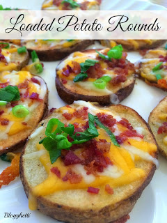 Loaded Potato Rounds from Blogghetti