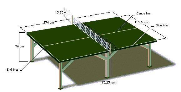 11. Lapangan Tenis Meja