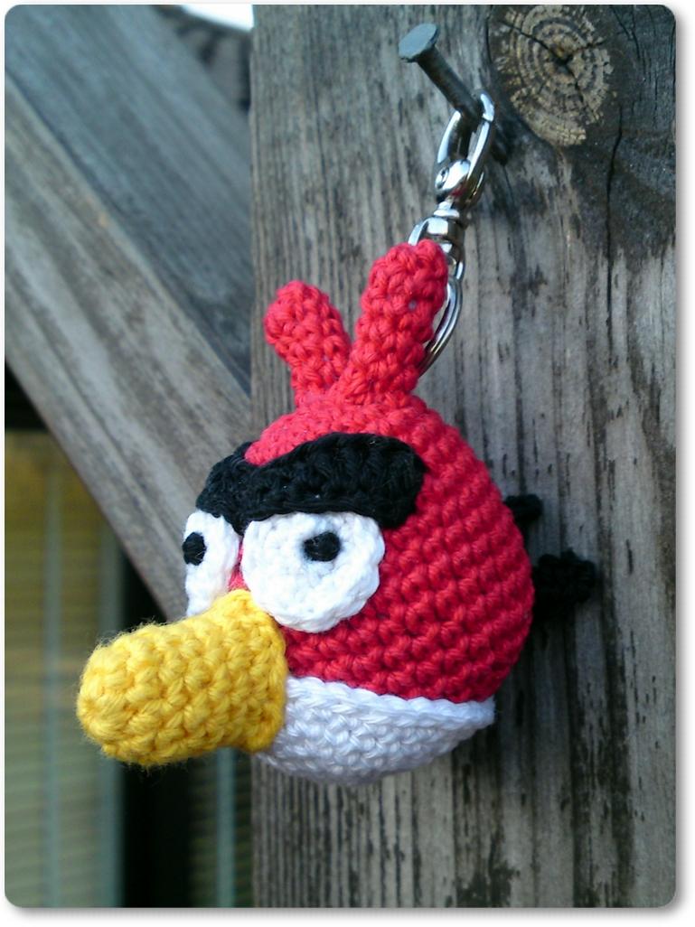 Amigurumi Angry Birds Star Wars : Christels handarbete: Angry bird
