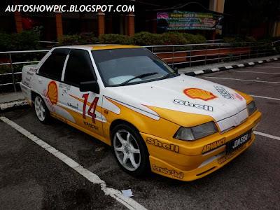 Proton Iswara Race Car