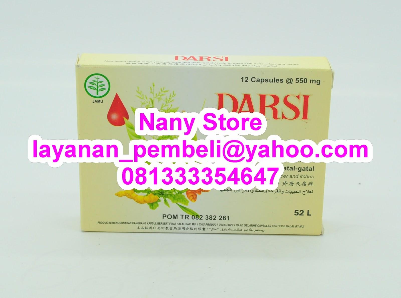Nany Store: DARSI KAPSUL, Mengobati Dan Membersihkan Darah ...