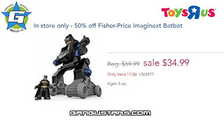 Imaginext Batbot action figures Black Friday sale cheap batman dc comics Fisher-Price imaginext アメコミ イマジネックスト