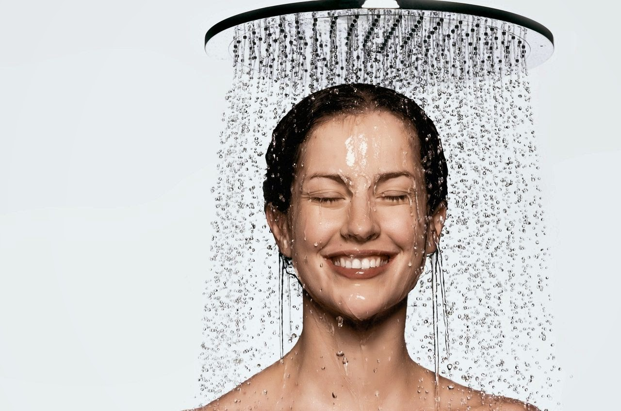 Taking Showers at Night by Taking a Hot Bath or Shower