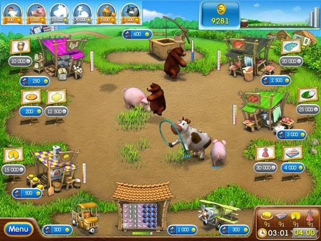 تحميل العاب مصراوى تحميل لعبة المزرعة السعيدة 2 Farm Frenzy مجانا