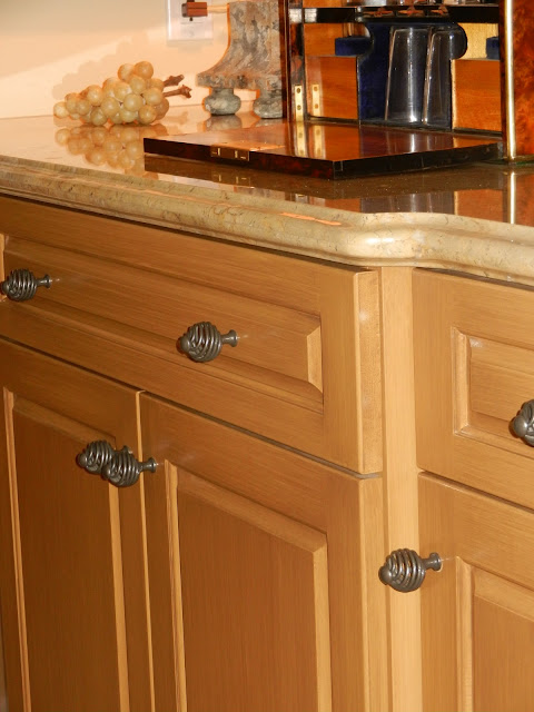 Unique He painted and glazed the butler us pantry cabinetry in a gorgeous butterscotch caramel color He painted our kitchen cabinets