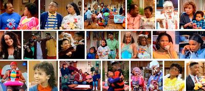Fotogramas de diferentes temporadas de Family Matters
