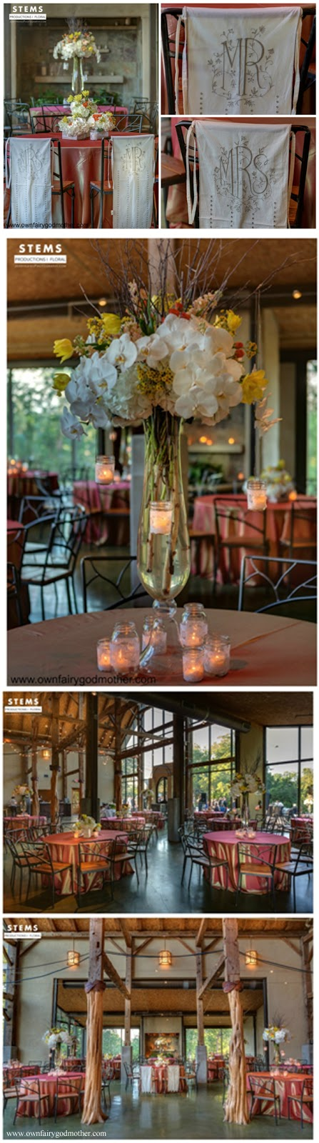 Real Wedding in Austin, TX at The Barr Mansion. Flowers by STEMS Floral Design. Wedding Planning by The Fairy Godmothers Weddings & Events