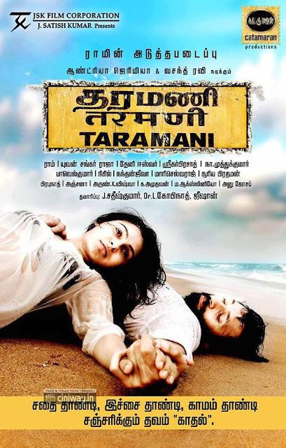 Taramani First Look Poster