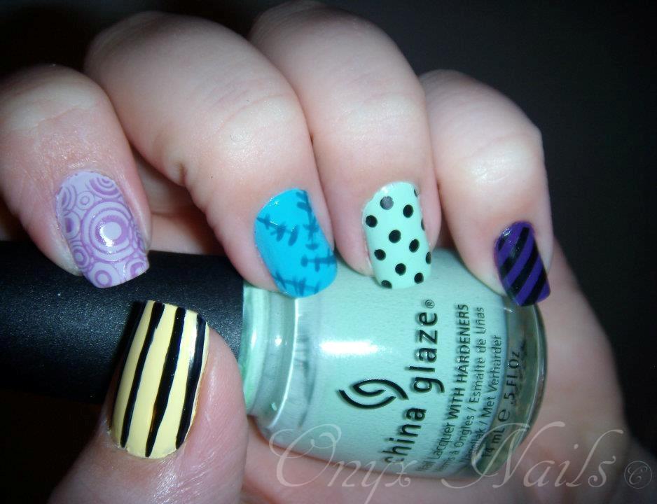 Onyx Nails: Movie Theme Nail Art