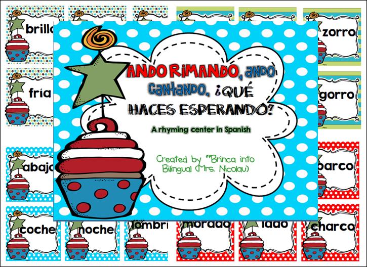 http://www.teacherspayteachers.com/Product/FREEBIE-Ando-cantando-ando-rimando-marzo-de-Cumpleanos-centro-de-rimas-1117093