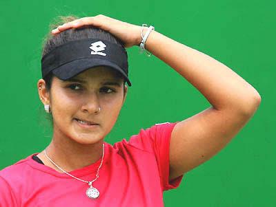 Sports celebrity Sania Mirza