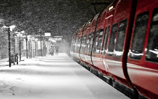 tren, gara, station, train, holidays, winter, iarna