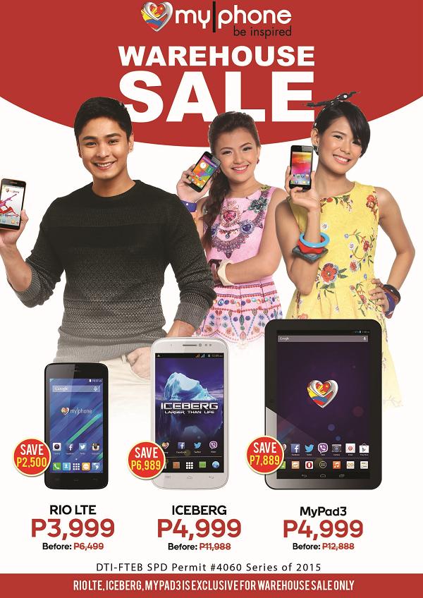 MyPhone MEGA Sale 2015