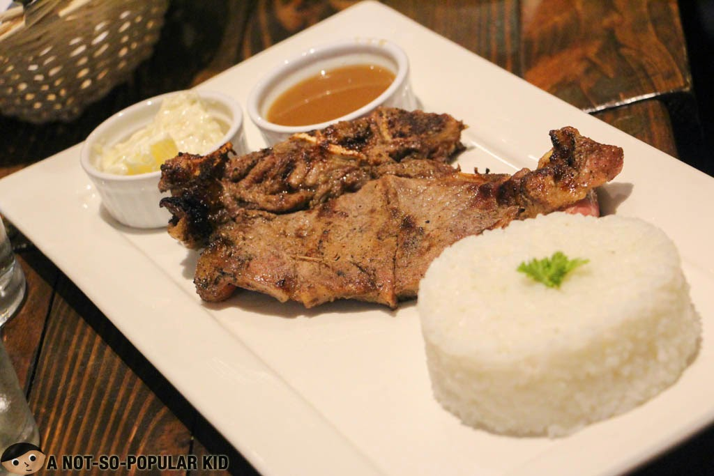 Salt's Top-Selling T-Bone Streak in Makati