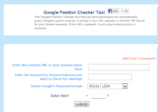 keyword position checker tool