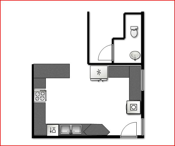Kitchen Layout Peninsula: Peninsula Kitchen Layout