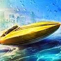 Driver Speedboat Paradise Icon Logo