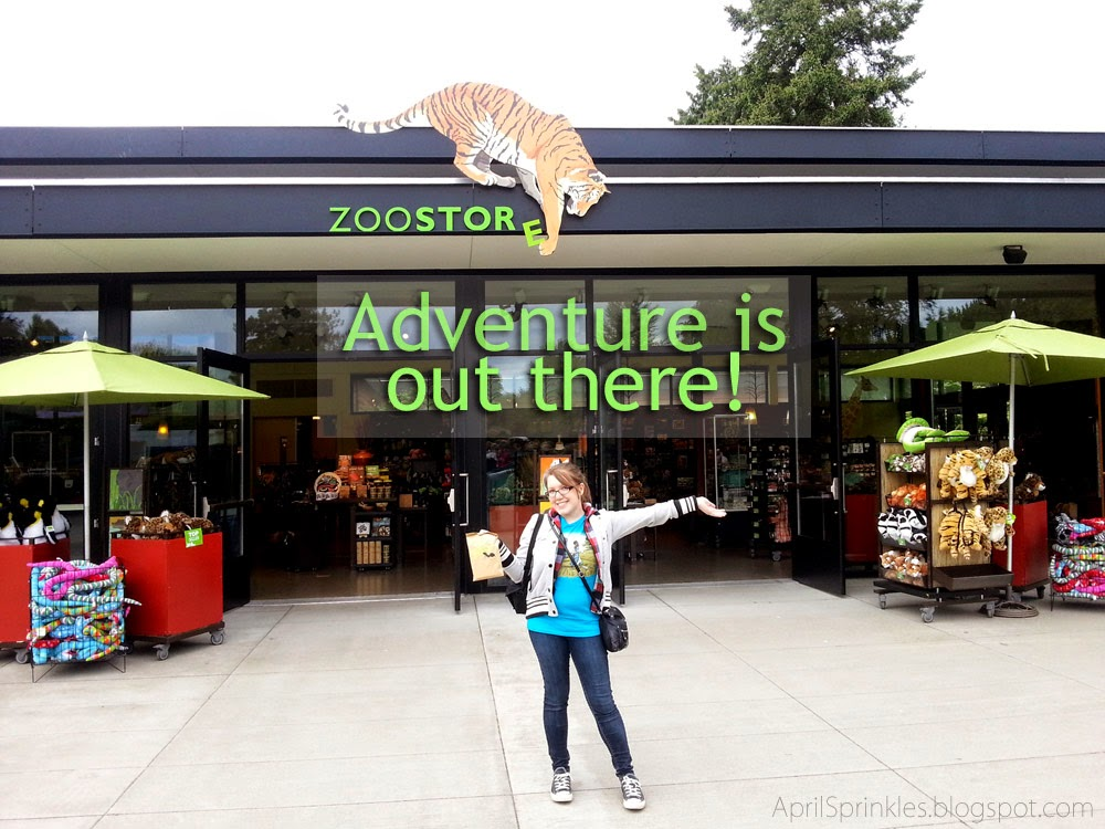 April Sprinkles: Weekend Adventures: Woodland Park Zoo Seattle