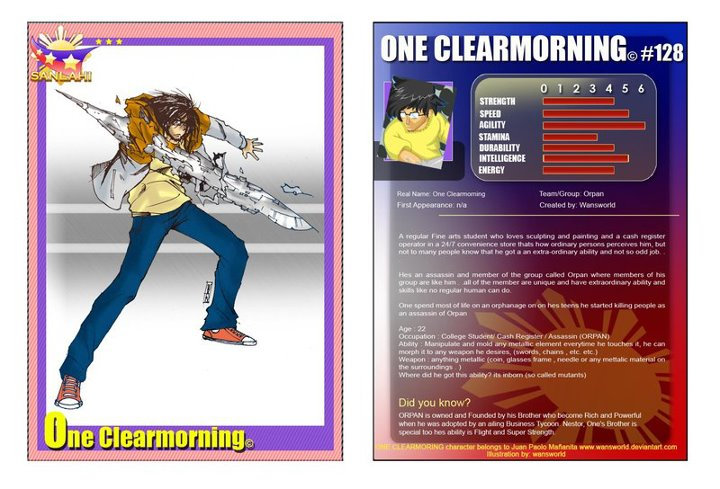 one clearmorning