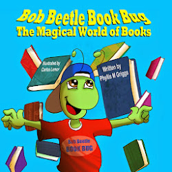 Bob Beetle Book Bug The Magical World of Books