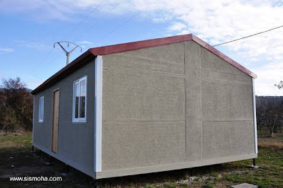Casa prefabricada de bajo costo y construcción rápida en España