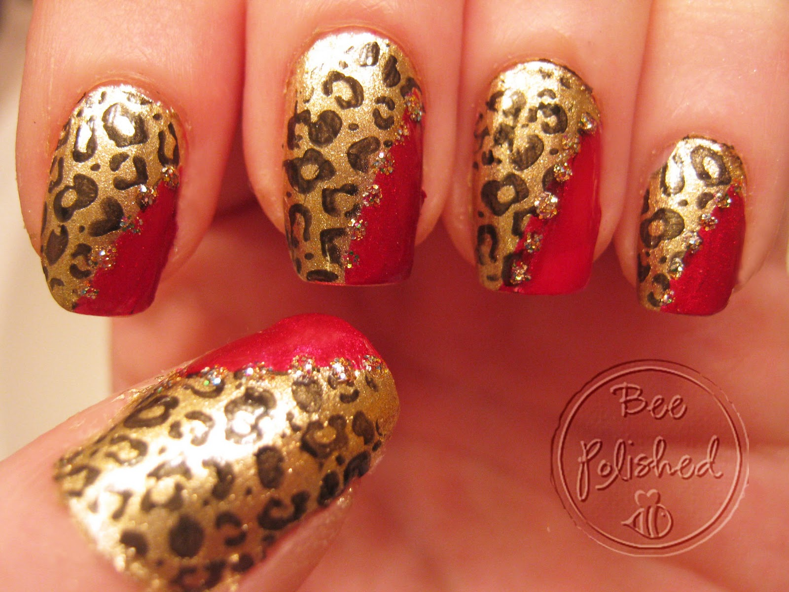 Metallic Leopard