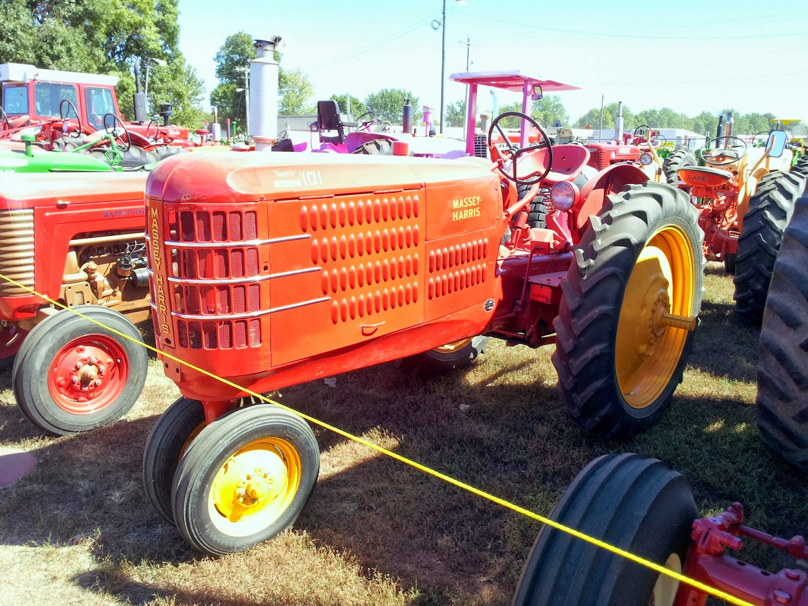 Massey Harris Tractor : History and culture by bicycle clay county fair vintage