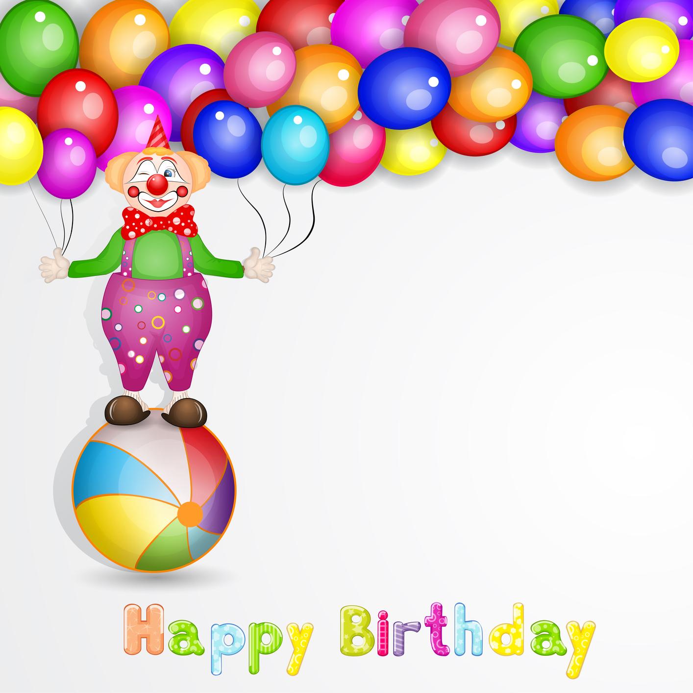 Поздравление с клоунами с днем рождения