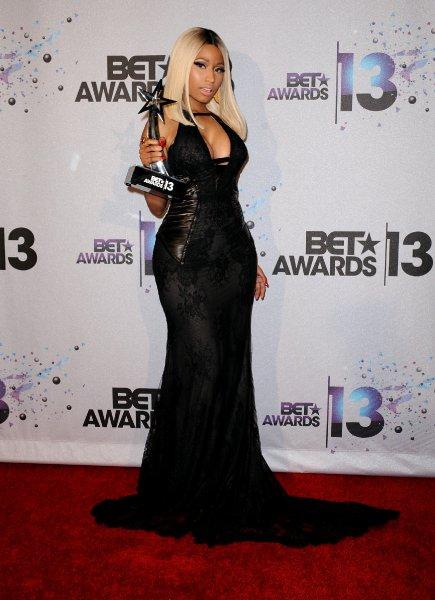 Nicki Minaj at the BET