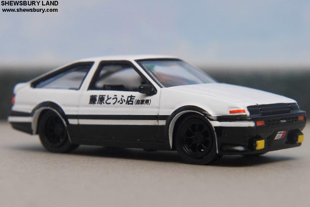 jada toys initial d 5 in 1 box set toyota trueno ae86. Black Bedroom Furniture Sets. Home Design Ideas