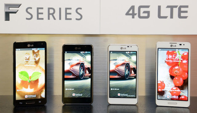 LG presenta la nueva familia Optimus F