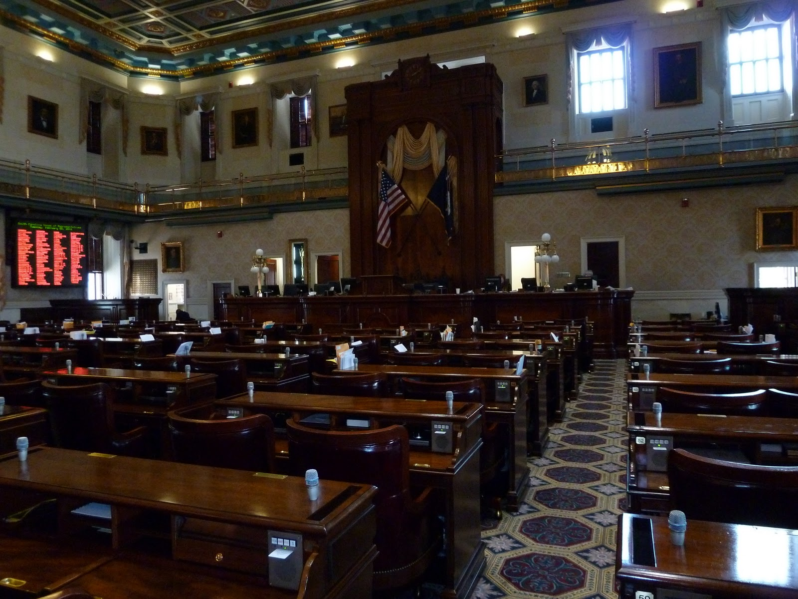 Senate term of office