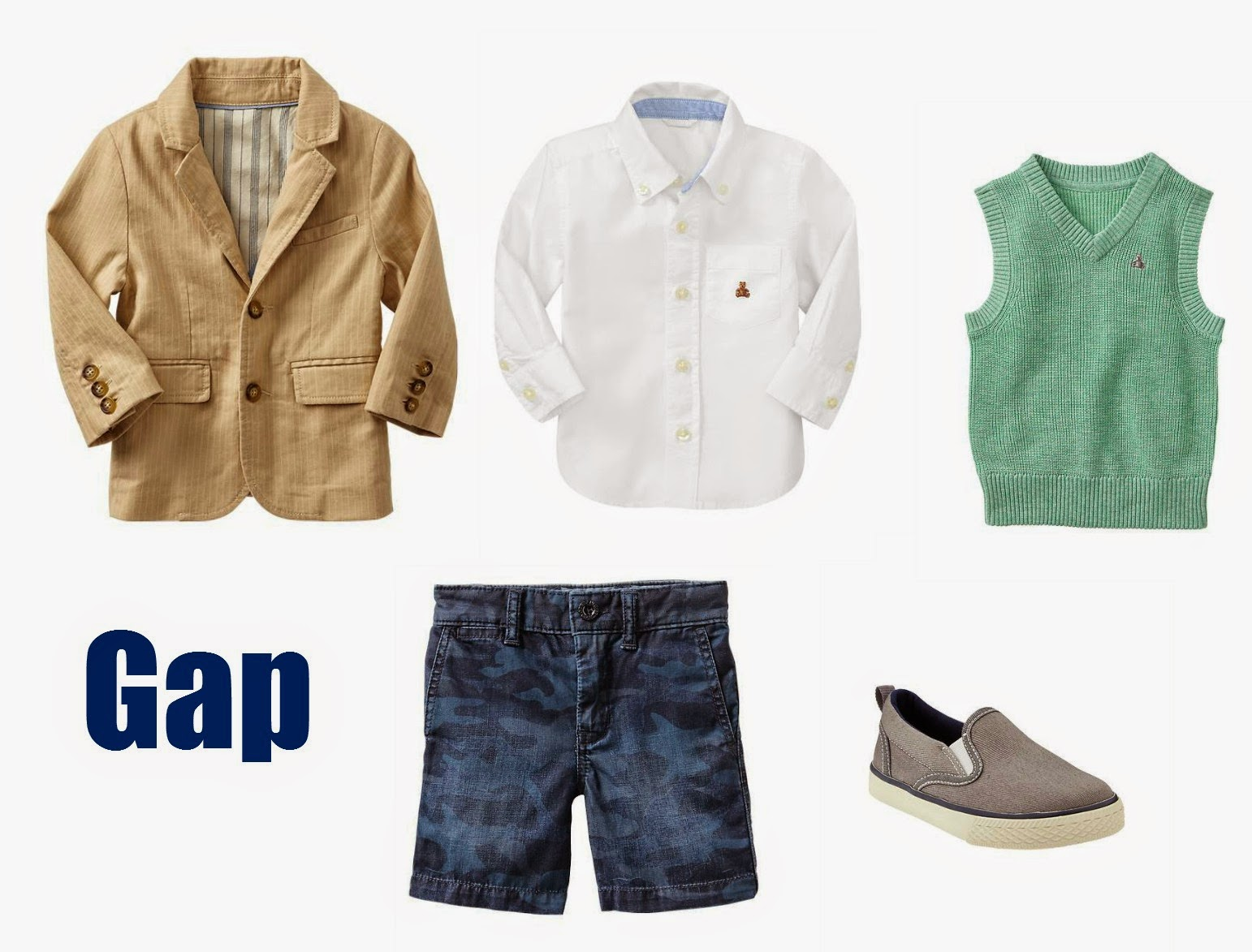 Gap Boys Easter Outfit