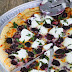 Blackberry, Basil, and Ricotta Pizza