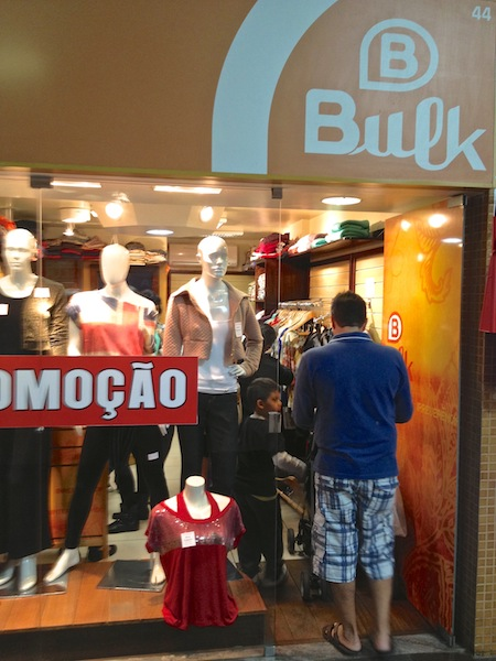 BULK NO SERRA SHOPPING