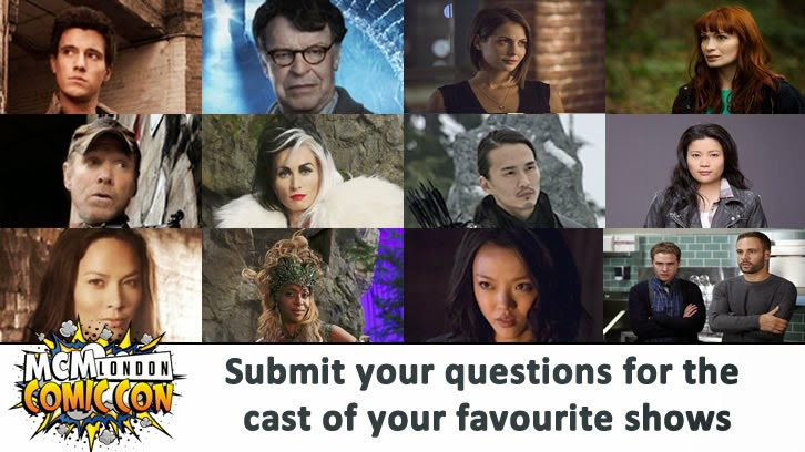MCM London Comic Con - Submit your questions for the guests