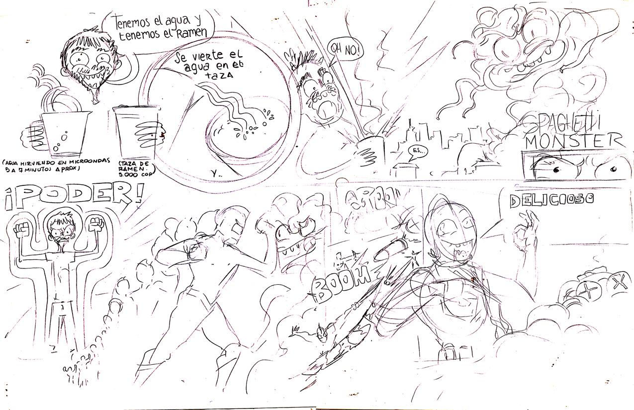 Sketch 01 Ultraman