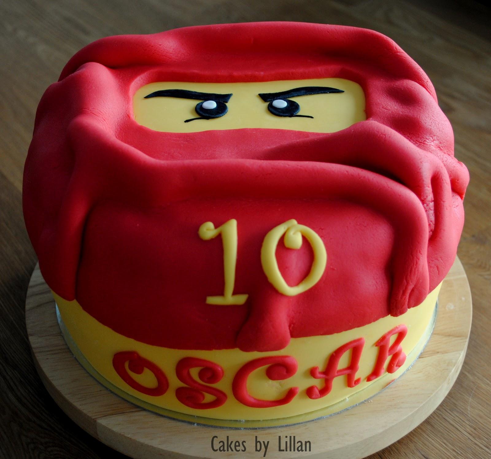 ninjago tårta steg för steg