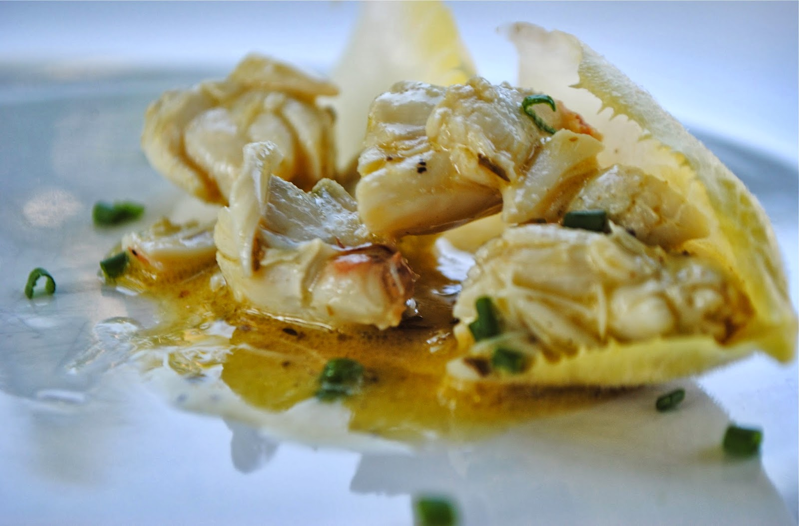 crabmeat on endive curried crabmeat salad simple crab salad salad in ...