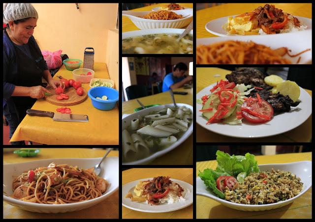 Desayunos   Platos nacionales y mariscos Platos internacionales Platos vegetarianos Pizzas y Hamburguesas WI-FI Cerbezas/  Jugos Naturales/  Ice Cream