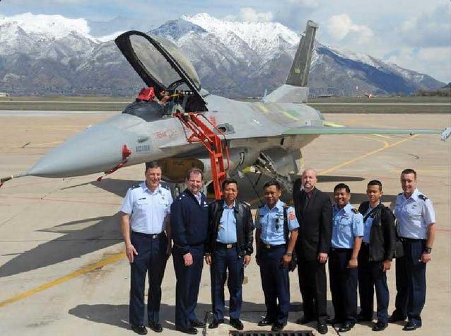 Penerbangan Uji Fungsi pesawat F16C-52ID Peace Bima Sena II Berhasil