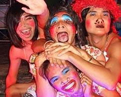 ladyboy show in Phuket Town